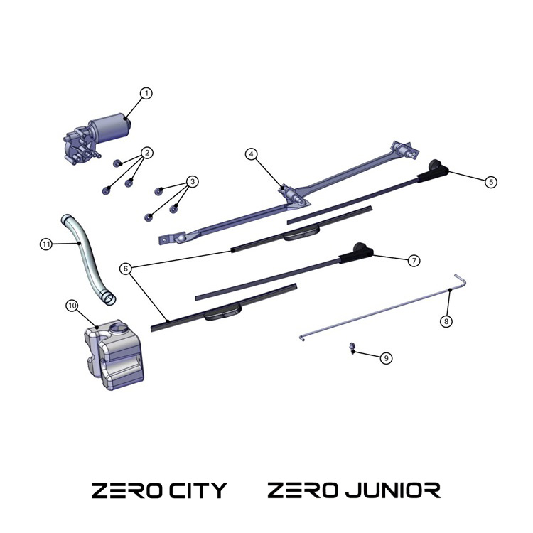TAZZARI Essuie-glaces - CITY & JUNIOR (1)